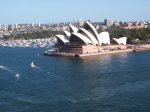 Opera House from the Harbour Bridge